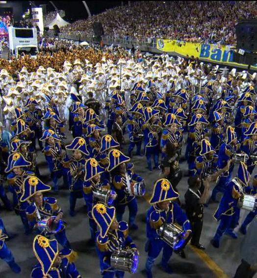 Em São Paulo (Reprodução Globo)