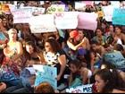Grupo protesta contra estupro e machismo em Salvador