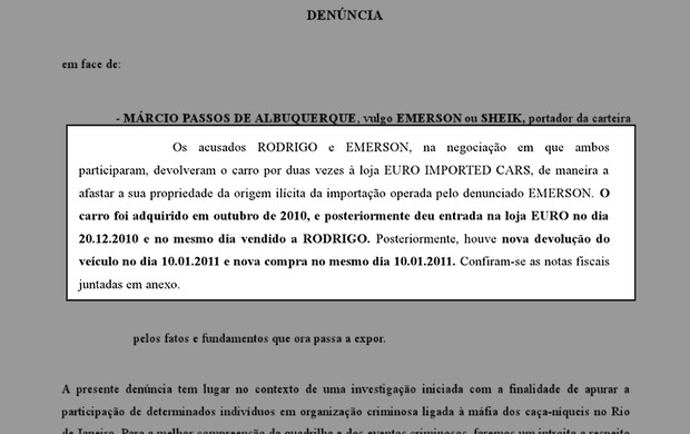 denúncia emerson diguinho (Foto: Reprodução)
