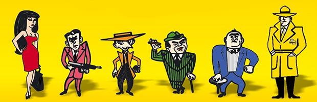 Turminha de personagens criados na década de 50 para a Bardahl, com a intenção de provocar desgastes e fundir os motores dos veículos.  (Foto: Reprodução/Bardahl)