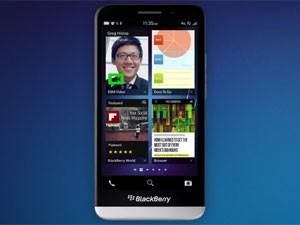 O Blaxkberry Z30 apresentado nesta quarta-feira (18) (Foto: Divulgação/Blackberry)