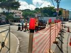 Obras provocam alteração no tráfego e estacionamento no Rio Vermelho