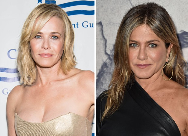 Chelsea Handler e Jennifer Aniston (Foto: Getty Images)