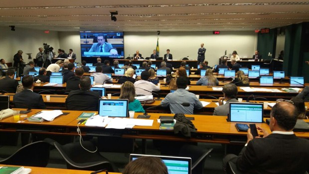 Comissão especial sobre as medidas contra a corrupção retoma debate de parecer (Foto: Bernardo Caram/G1)