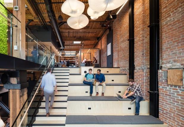 Escritório da startup Slack em San Francisco (Foto: Divulgação)
