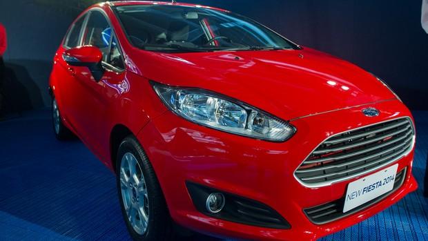 Veja imagens do Ford New Fiesta brasileiro