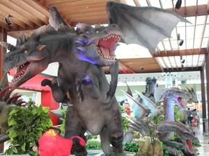 Exposição 'Dragões' chega ao Shopping Parque Dom Pedro, em Campinas (SP) (Foto: D32/Divulgação)