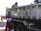 Caminhão do PAC é usado para coleta de lixo em Rorainópolis, Sul de RR