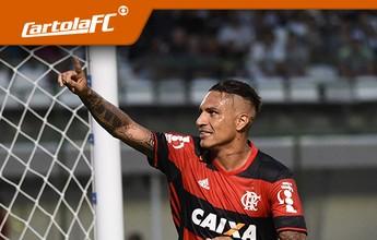 Cartola FC: mais escalado, Guerrero se destaca na rodada #16; Réver vai mal