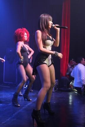Anitta faz show em São Paulo (Foto: Thiago Duran/ Ag. News)