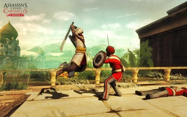Games também terão visuais diferentes. 'Assassin's Creed Chronicles: India', por exemplo, tem um traço mais rascunhado (Foto: Divulgação/Ubisoft)