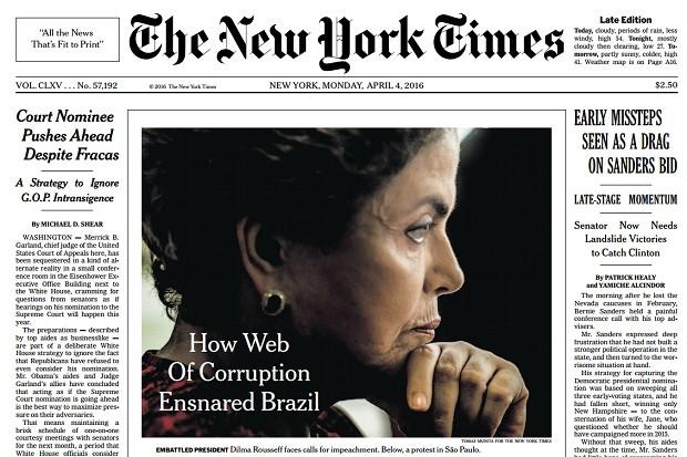 Dilma: A vergonha do Brasil no mundo