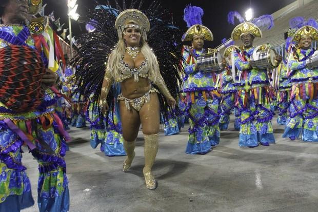Mulher Filé no Rio (Foto: Marcos Ferreira / photo rio news)