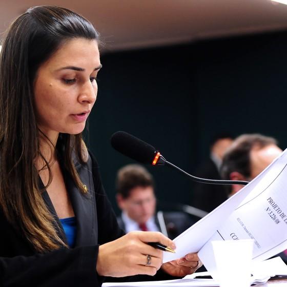 Rebecca Garcia (Foto: Gustavo Lima/Câmara dos Deputados)