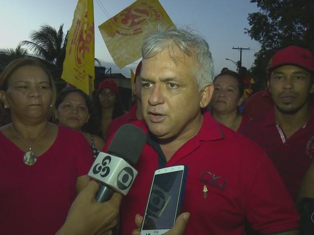 Jones Cavalcante, prefeitura, eleição suplementar, calçoene, amapá,  (Foto: Reprodução/Rede Amazônica no Amapá)