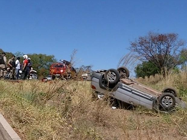 Acidente deixa cinco mortos no TO  (Foto: Reprodução/TV Anhanguera)