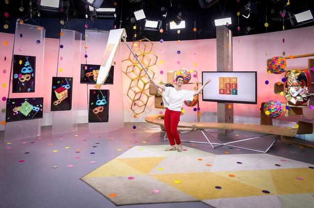 Sandra Annenberg no 'Como será?' (Foto: Ramon Vasconcelos/ TV Globo)