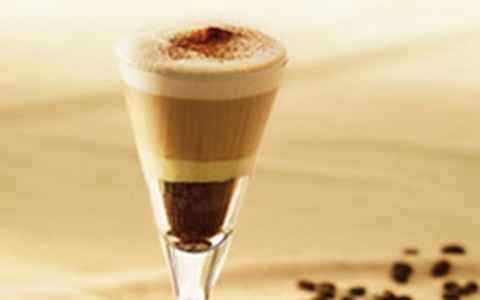 Café com chocolate e leite condensado