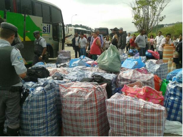 Produtos apreendidos estavam sem nota fiscal (Foto: Divulgação / Polícia Rodoviária)