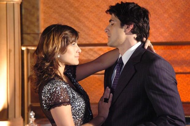 Priscila Fantin e Reynaldo Gianecchini na novela Sete Pecados (Foto: TV Globo / Fabrício Mota)