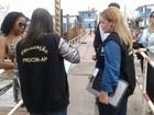 Procon-AP fiscaliza embarcações no porto de Santana com destino a Belém