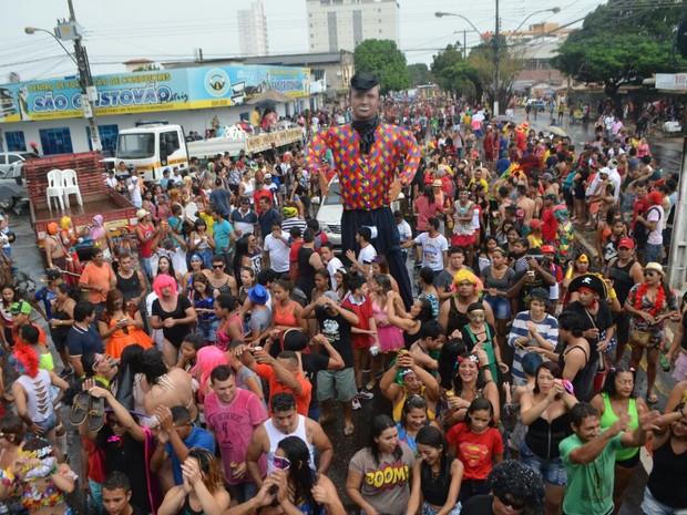 a banda, 2017, carnaval, amapá (Foto: Fabiana Figueiredo/G1)