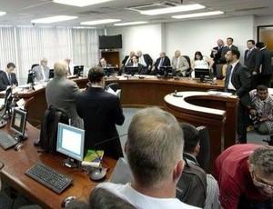Julgamento Pleno do STJD Central (Foto: Sérgio Pepeu)