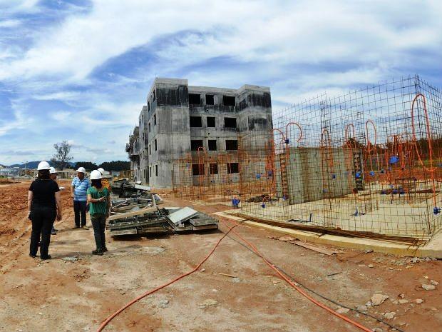 Apartamentos equivalem a 50% dos imóveis em construção no bairro (Foto: Divulgação)