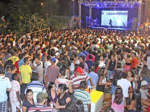 A previsão é que 25 mil pessoas pulem o Carnaval em Palmas (Foto: Antônio Gonçalves/Ascom Prefeitura Palmas)