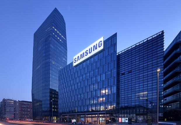 Unidade da gigante sul-coreana de tecnologia Samsung (Foto: Reprodução/Facebook)