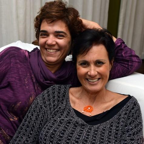 Solange Badim e Márcia Cabrita (Foto: Cristina Granato)