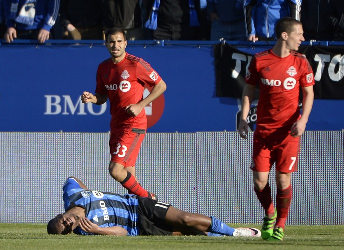 Didier Dorgba Toronto FC x Montreal Impact (Foto: Reuters)