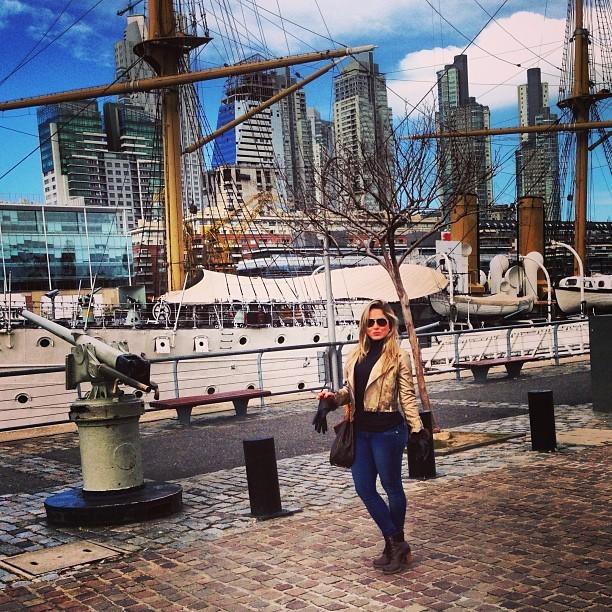 Ex-BBB Renatinha em Buenos Aires, na Argentina (Foto: Instagram/ Reprodução)