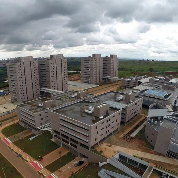 Centro Administrativo do DF: cidade-fantasma (Foto: Reprodução/Facebook)
