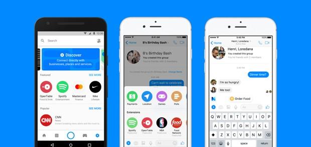 Messenger vai ganhar diversas novas funcionalidades (Foto: Divulgação)