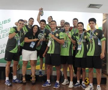 Cathedral venceu o time da Ufam na disputa do bronze (Foto: Ascom/Fuer)