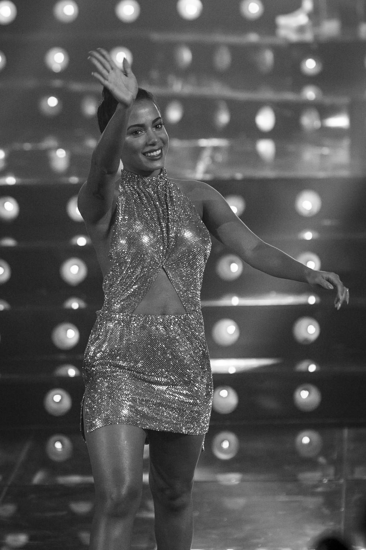 Look Crystal Mesh: Carlos Miele para Anitta (Foto: Reprodução)