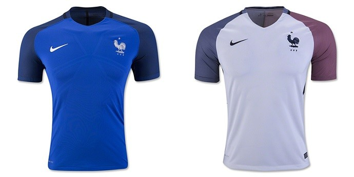 Camisas Eurocopa França