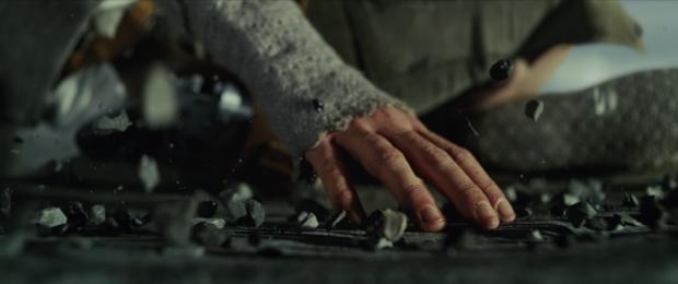Daisy Ridley em cena de 'Os Últimos Jedi' (Foto: Reprodução)