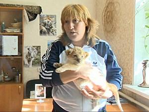 Leligre Kiara Sibéria Rússia (Foto: BBC)