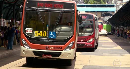 ônibus de Manaus  (Arte/G1)