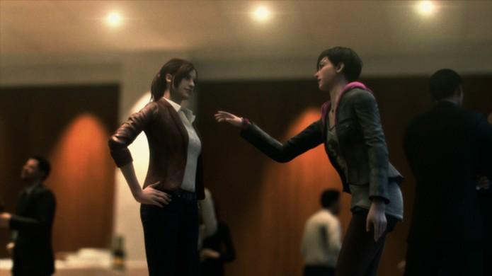 Claire e Moira, protagonistas de Resident Evil: Revelations 2, não se entenderão no início (Foto: 4Gamer) (Foto: Claire e Moira, protagonistas de Resident Evil: Revelations 2, não se entenderão no início (Foto: 4Gamer))
