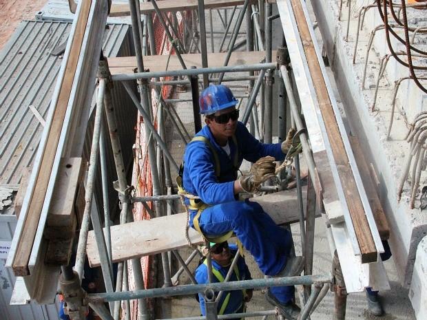 Operários trabalhavam sem operação em locais com risco de queda, diz MPT (Foto: Divulgação/MPT)