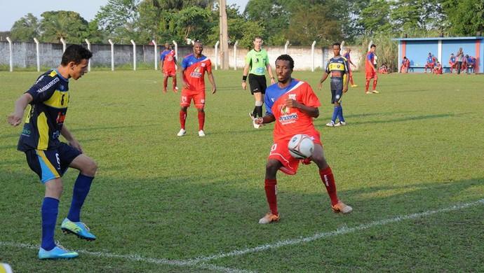 O Tocantins goleou o Atlético Cerrado no Castanheirão (Foto: Osterno Parrião/ Divulgação)