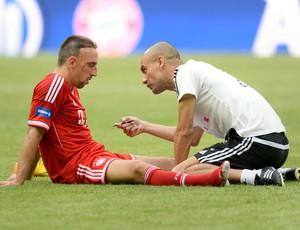 Ribéry Guardiola Bayern (Foto: AFP)