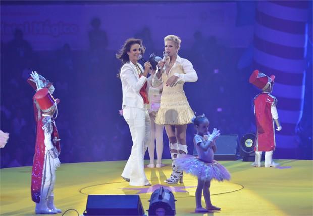 Xuxa e Ivete  (Foto: Fabio Cordeiro/Revista QUEM)