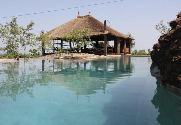 Resort de luxo Le Campement Kangaba em Mali (Foto: Divulgação)