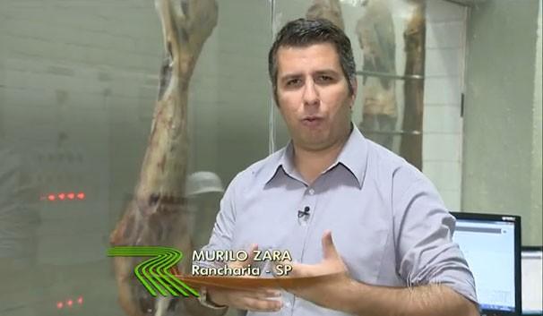 Murilo Zara apresentou a matéria exibida no Globo Rural (Foto: Reprodução/Globo Rural)
