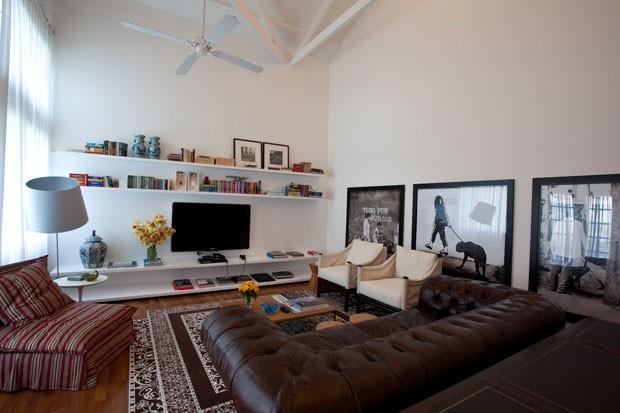 Acerte na decoração da sala de TV  Casa Vogue  Ambientes