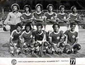 Confiança, 1977 (Foto: Arquivo/Robson Porto)